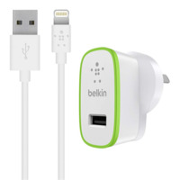 Belkin BOOSTUP Wall Charger - 1 USB Port  With Lightning Cable