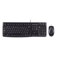 Logitech MK120 Wired Combo