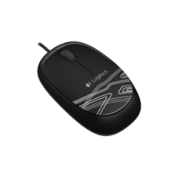 Logitech M105 Wired Mouse - Black