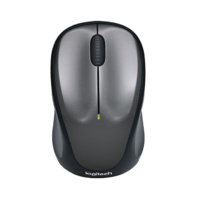 Logitech M235 Wireless Mouse - Grey
