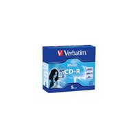 Verbatim CD-R 700MB 5pk