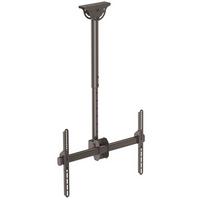 Flat-Screen TV Ceiling Mount - Short Pole - Full Motion - StarTech.com Flat Screen TV Ceiling Mount - Short Pole - Full Motion - Heavy Duty Steel - Ce