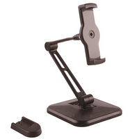 "Universal Tablet Desk Stand - Wall Mountable - StarTech.com StarTech.com Tablet Stand - Universal iPad Stand - for 4.7"" to 12.9"" Tablets - iPad Holder"
