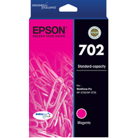 702 Mag Ink Cartridge - EPSON WORKFORCE PRO WF 3720 EPSON WORKFORCE PRO WF 3725