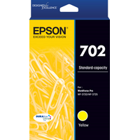 702 Yellow Ink Cartridge - EPSON WORKFORCE PRO WF 3720 EPSON WORKFORCE PRO WF 3725