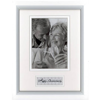 FRAME PROFILE 6X8 TIMBER  CELEBRATIONS HAPPY ANNIVERSARY(EACH)