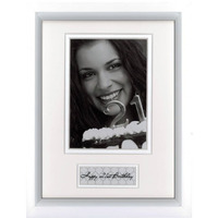 FRAME PROFILE 6X8 TIMBER  CELEBRATIONS HAPPY BIRTHDAY 21ST(EACH)