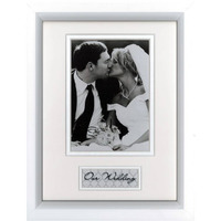 FRAME PROFILE 6X8 TIMBER  CELEBRATIONS OUR WEDDING(EACH)