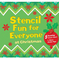 BOOK STENCIL FMP FUN FOR EVERYONE AT CHRISTMAS(EACH) - BOOK STENCIL FMP FUN FOR EVERYONE AT CHRISTMAS