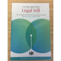 WILL KIT THE PROBATE PROFESSIONALS SINGLES(EACH) - WILL KIT THE PROBATE PROFESSIONALS SINGLES