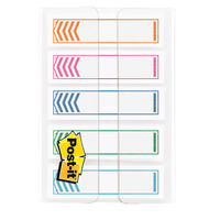 FLAGS WRITABLE ARROW POST-IT 12MM 684-SH-NOTE ASSORTED COLOURS PK100(EACH)