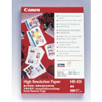 PAPER PHOTO CANON A3 HIGH RESOLUTION I/J HR-101N PK20(PKT) - PAPER PHOTO CANON A3 HIGH RESOLUTION I/J HR-101N PK20