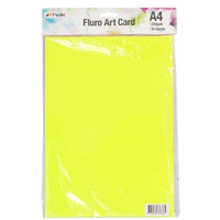 CARD ARTVIBE A4 FLURO(EACH)