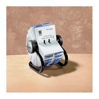 BUSINESS CARD FILE ROTARY ROLODEX 67236 400 CAP(EACH)