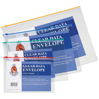 DATA FILE ENV SOVEREIGN 390X285MM TRANSPARENT(EACH) - DATA FILE ENV SOVEREIGN 390X285MM TRANSPARENT