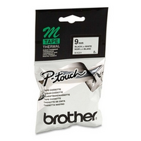 LABEL TAPE BROTHER P-TOUCH MK-221 9MMX8M BLK/WHT(EACH) - LABEL TAPE BROTHER P-TOUCH MK-221 9MMX8M BLK/WHT