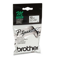 LABEL TAPE BROTHER P-TOUCH MK-231 12MMX8M BLK/WHT NON-LAM(EACH) - LABEL TAPE BROTHER P-TOUCH MK-231 12MMX8M BLK/WHT NON-LAM