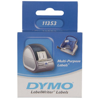 DYMO LABELWRITER MULTIPURPOSE 2 UP PAPER 13X25MM