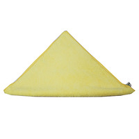 CLOTH CLEANLINK 40X40CM MICROFIBRE GENERAL PURPOSE YELLOW (EACH)
