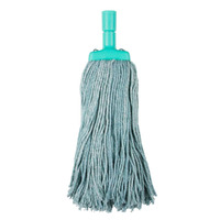 MOP HEAD CLEANLINK 400GM GREEN(EACH)