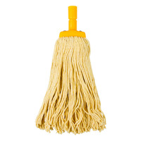 MOP HEAD CLEANLINK 400GM YELLOW(EACH)
