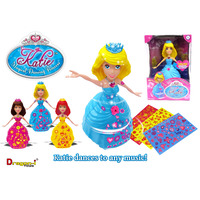 TOY DRAGON-I KATIE MAGICAL DANCING PRINCESS(EACH)