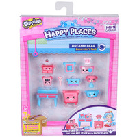 TOY MOOSE SHOPKINS HAPPY PLACES S1 DREAMY BEAR(EACH)