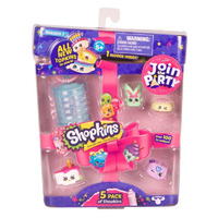 TOY MOOSE SHOPKINS SERIES 7 5 CHARACTER PACK ASST(EACH)