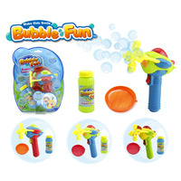 TOY BUBBLE BLOWER PLANE WITH 60 ML SOLUTION REQUIRES BATTERIES(EACH)