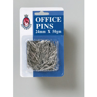 PINS OFFICE SOVEREIGN 24MM 50GM(PKT)