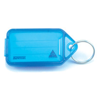 KEY TAGS KEVRON GIANT BLUE PK25(EACH) - KEY TAGS KEVRON GIANT BLUE PK25