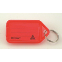 KEY TAGS KEVRON GIANT RED PK25(EACH) - KEY TAGS KEVRON GIANT RED PK25