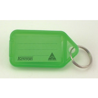 KEY TAGS KEVRON GREEN PK50(EACH) - KEY TAGS KEVRON GREEN PK50