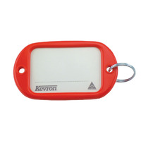 KEY TAGS KEVRON JUMBO RED PK12(EACH) - KEY TAGS KEVRON JUMBO RED PK12