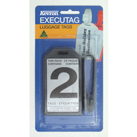 LUGGAGE EXECUTAG KEVRON BP2 ID24BP(EACH) - LUGGAGE EXECUTAG KEVRON BP2 ID24BP