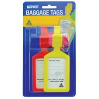 LUGGAGE TAG KEVRON 2 PACK WITH BONUS KEYTAG(EACH) - LUGGAGE TAG KEVRON 2 PACK WITH BONUS KEYTAG