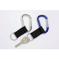KEY HOLDER CARABINER  ASST PK2(PKT) - KEY HOLDER CARABINER  ASST PK2