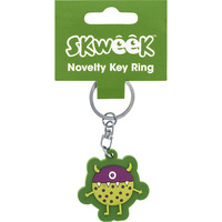 KEY RING SKWEEK NOVELTY RUBBER GREEN(EACH) - KEY RING SKWEEK NOVELTY RUBBER GREEN