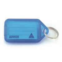 KEY TAGS KEVRON BLUE PK50(EACH) - KEY TAGS KEVRON BLUE PK50