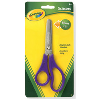 SCISSORS CRAYOLA 13.6CM BLUNT TIP AGES 4(EACH)