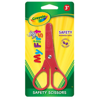 SCISSORS CRAYOLA SAFETY KIDS TIP AGES 3(EACH)