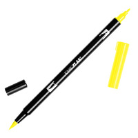 DUAL BRUSH PEN TOMBOW (ABT) 055 / PROCESS YELLOW(EACH)