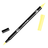 DUAL BRUSH PEN TOMBOW (ABT) 062 / PALE YELLOW(EACH)