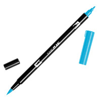 DUAL BRUSH PEN TOMBOW (ABT) 493 / REFLEX BLUE(EACH)