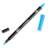 DUAL BRUSH PEN TOMBOW (ABT) 515 / LIGHT BLUE(EACH)