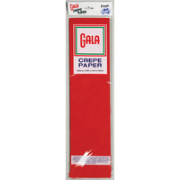 CREPE PAPER GALA 84 NATIONAL RED(PK12)