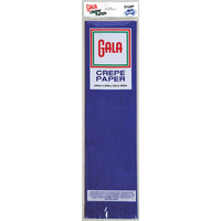 CREPE PAPER GALA 54 FRENCH BLUE(PK12)