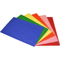 TISSUE PAPER RAINBOW 17GSM A4 ACID FREE ASSORTED(PK120)