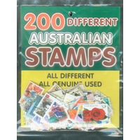 STAMPS 200 DIFFERENT AUSTRALIAN(EACH)