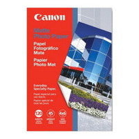 Canon MP-101 Medium Weight (170gsm) Bright premium matte finish 4X6 Photo Paper  120 Sheets